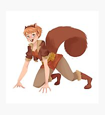 Squirrel Girl Photographic Print