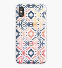 Tropical Ikat Damask iPhone Case/Skin