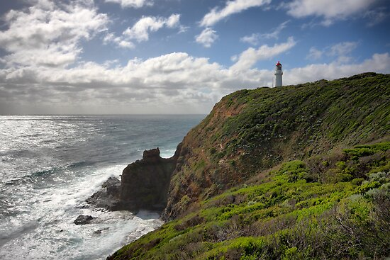 Cape Schanck Lighthouse by Jim Worrall