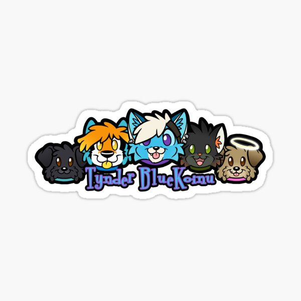 Tynder FoxBox Family Sticker