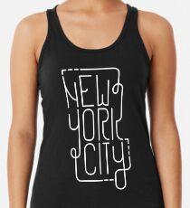 Camiseta de tirantes para mujer New York City