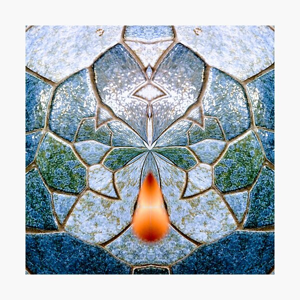 It takes a spark to light a lonely heart Photographic Print