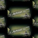 Jackson Street, Central District, Seattle, WA Street Sign Photography by MWP by MistahWilson