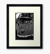 Rusty (VW) Bus Framed Print