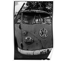 Rusty (VW) Bus Poster