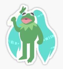 Kermiku is God Sticker