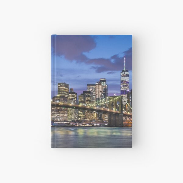 Manhattan Blues Hardcover Journal