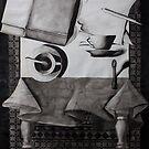 Still Life, ink on paper, 1998 by fiona vermeeren