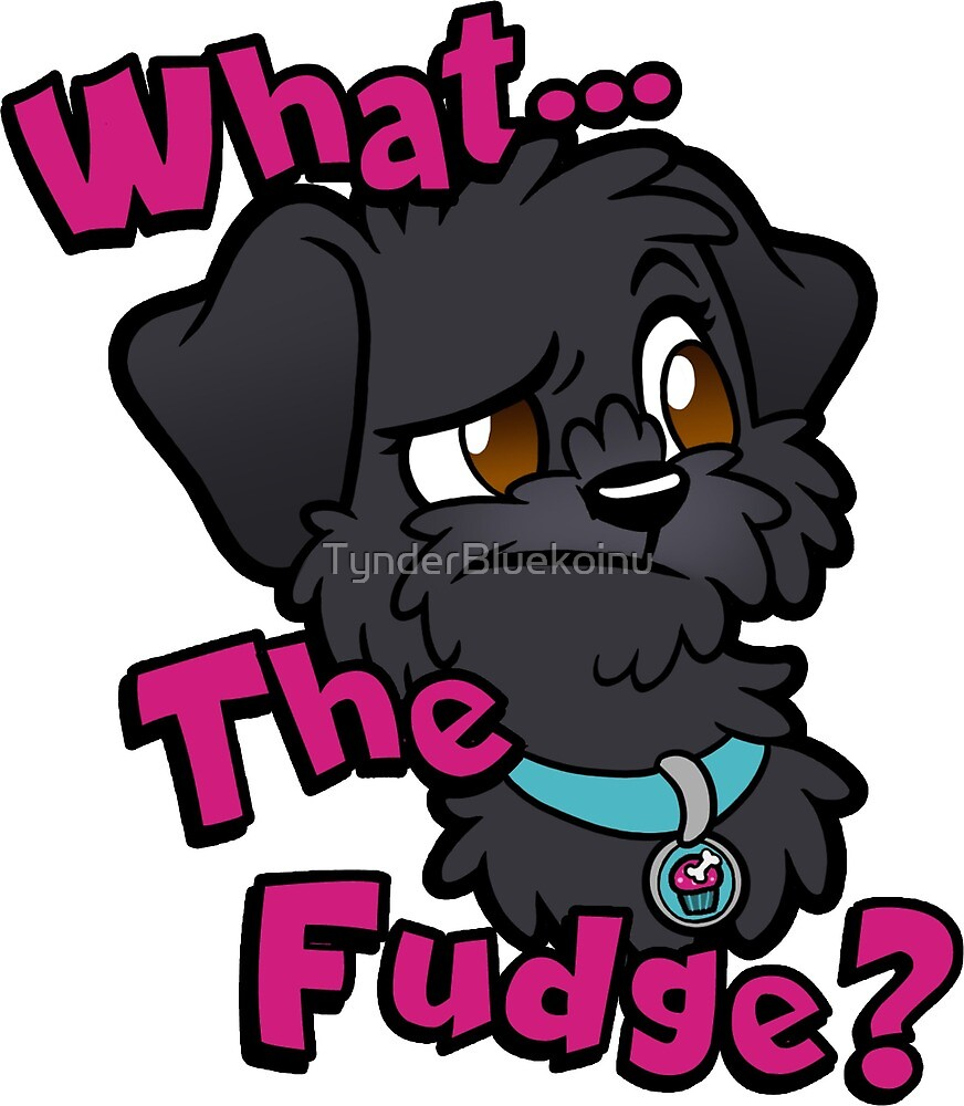 What the fudge? by TynderBluekoinu