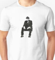 Sitting on hard times  Unisex T-Shirt