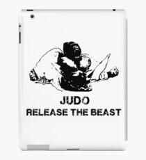 JUDO RELEASE THE BEAST iPad Case/Skin