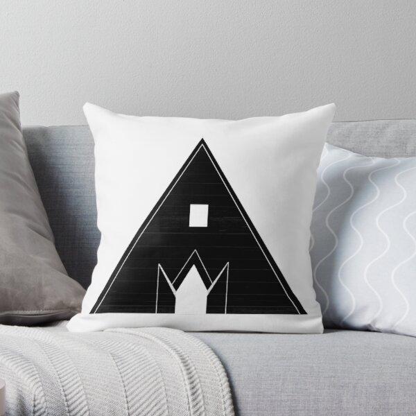 Fire Temple invert Throw Pillow