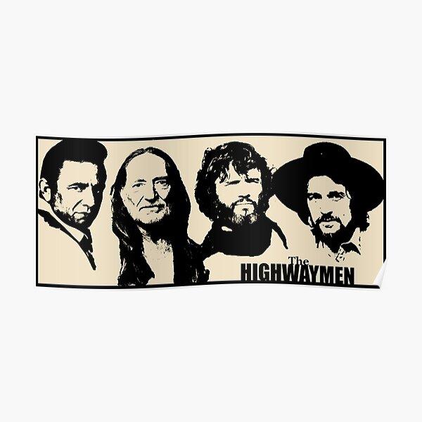 Supergroup Country Outlaw - Le pochoir noir Poster