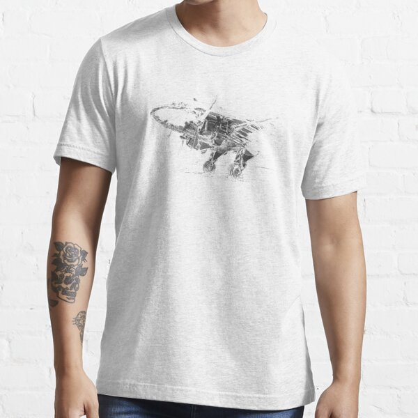 Classic propliner passenger and cargo airplane Essential T-Shirt