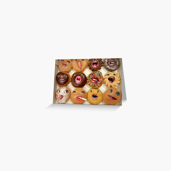 Freaking Donuts Greeting Card