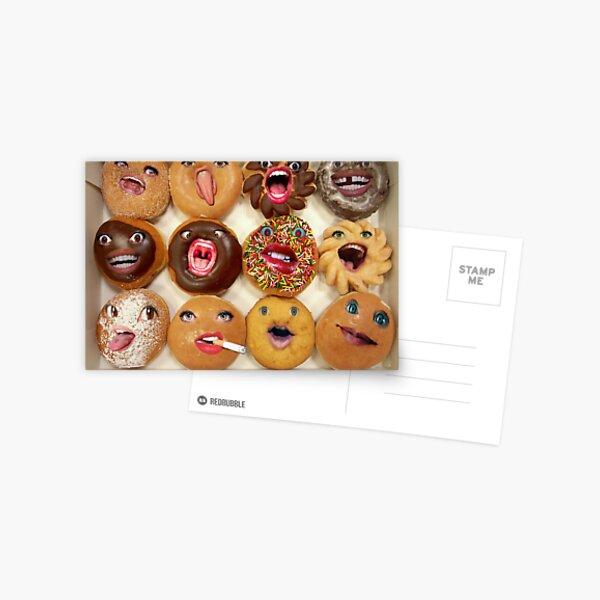 Freaking Donuts Postcard