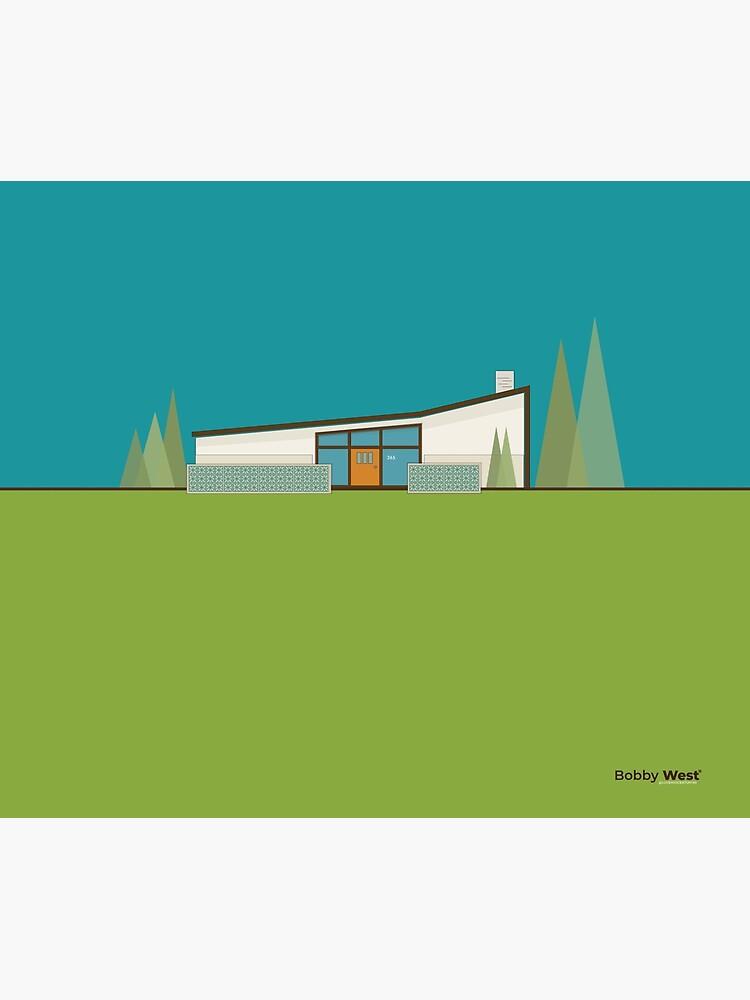 "Mid Century Modern House ""365 Minerva Lane"" by Bobby West by BobbyWest1965"