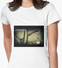 23rd Street & Union Street, Seattle, WA by MWP Fitted T-Shirt