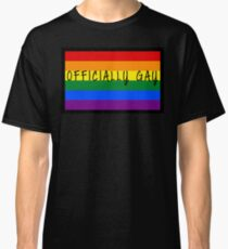 Prideful Words - Officially Gay Classic T-Shirt