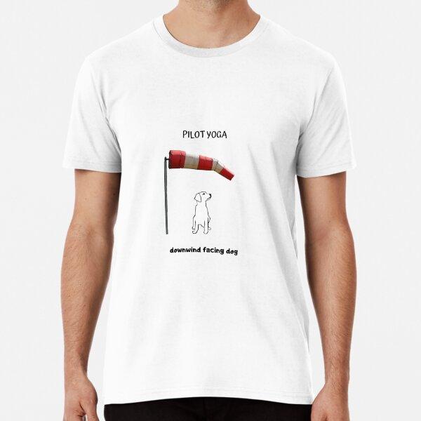 Pilot Yoga shirts, tote bags, water bottle Premium T-Shirt