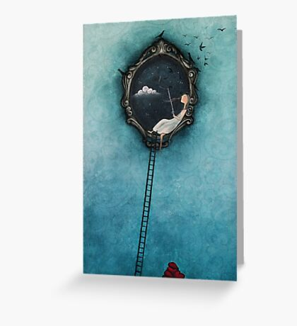 Love is the catch of the day Greeting Card