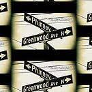 Greenwood Avenue North & Phinney, Seattle, WA by MWP by MistahWilson