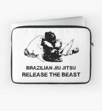 BRAZILIAN JIU JITSU RELEASE THE BEAST Laptop Sleeve