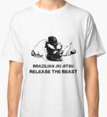 BRAZILIAN JIU JITSU RELEASE THE BEAST Classic T-Shirt