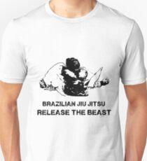 BRAZILIAN JIU JITSU RELEASE THE BEAST Unisex T-Shirt
