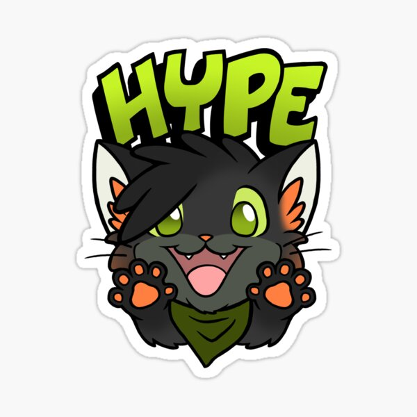 Sushi Hype! Sticker