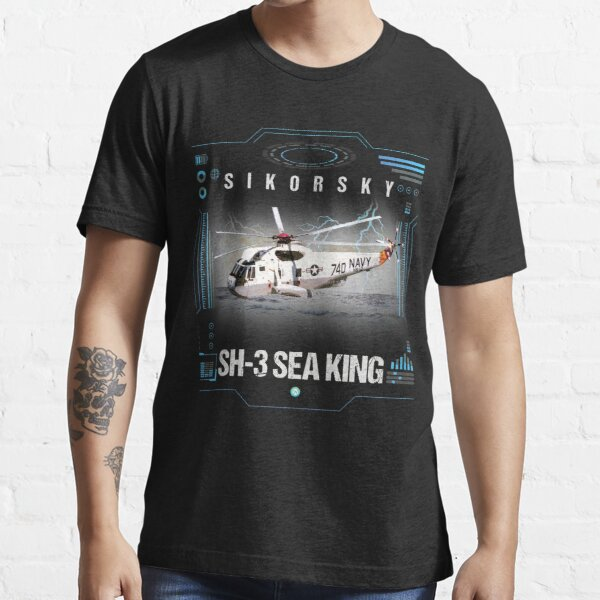 SH3 Sea King Helicopter Crew Gift Essential T-Shirt