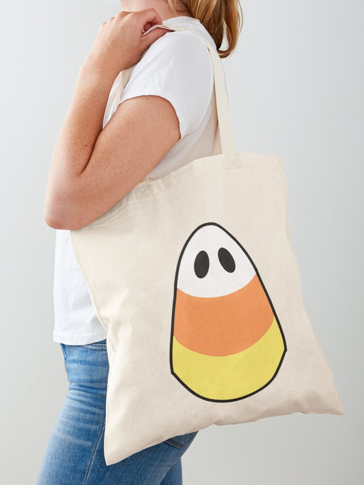 Ghosts with Candy Canvas Tote Bag