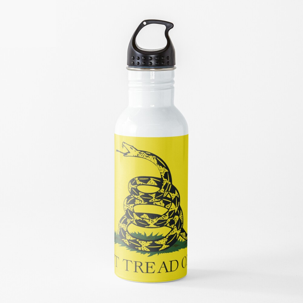 Gadsden Flag Water Bottle