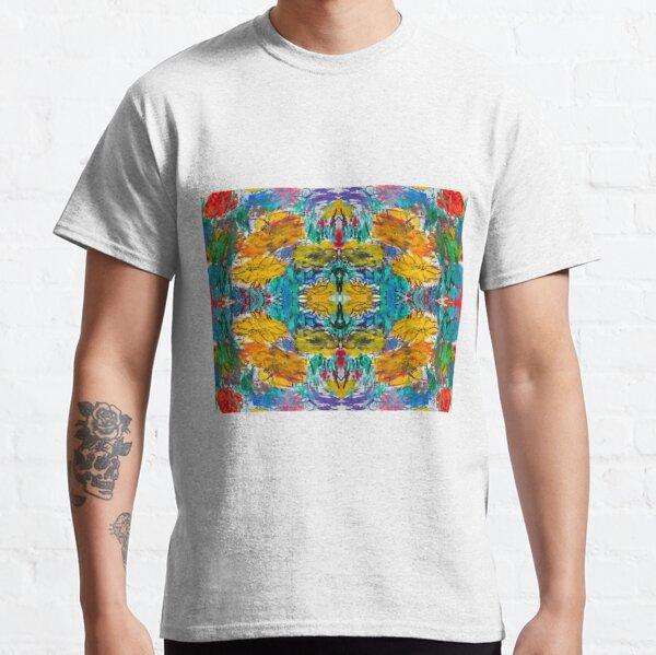#Painting, #Art, #Canvas, #Watercolor, creativity, gouache, configuration, graffiti, messy, design Classic T-Shirt
