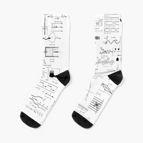 General Physics Formula Set Socks