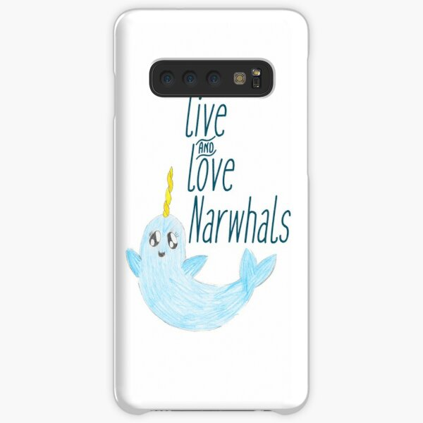 Live & Love Narhwhals Samsung Galaxy Snap Case
