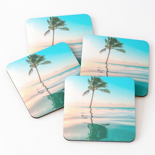 Tropical Island  Coasters (Set of 4)