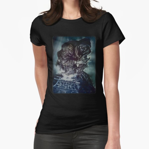 Dark Ages Cover Art: Clanbook: Cappadocian Fitted T-Shirt