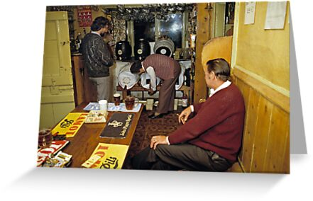 Tucker's Grave Inn, Somerset, England, UK, 80's by David A. L. Davies