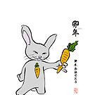 Happy New Year Rabbit by 73553