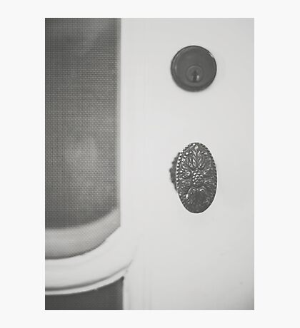 The Manor Door Photographic Print