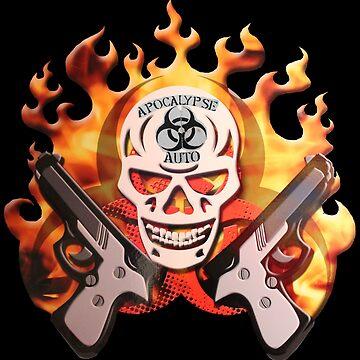 apocalypse auto skull by id0ntcare