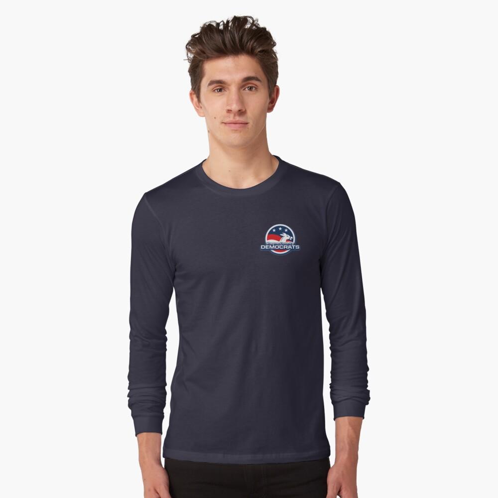 Payne County Democrats Basic Logo Long Sleeve T-Shirt