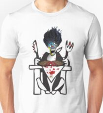 tron demon dinner time by tron2010 T-Shirt