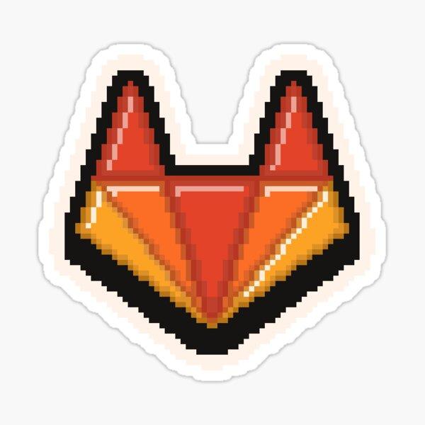 Gitlab Pixel Art Sticker