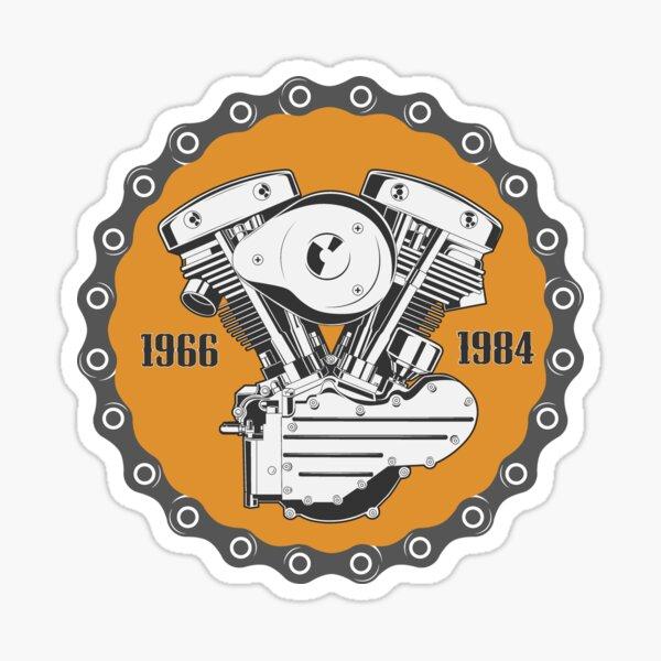 Harley Shovelhead Engine Sticker