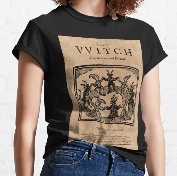 The Witch Film Movie Poster Design Black Phillip Thomasin VVitch Classic T-Shirt