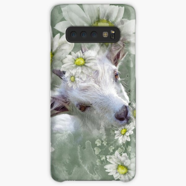 Don't Eat the Daisies Baby Goat Samsung Galaxy Snap Case