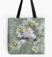 Don't Eat the Daisies Baby Goat Tote Bag