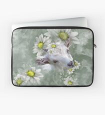 Don't Eat the Daisies Baby Goat Laptop Sleeve